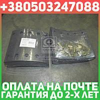 ⭐⭐⭐⭐⭐ Накладка торм. (компл. на ось) 420х180 станд. BPW, KASSBOHRER, SAF (RIDER)  RD 19032STD
