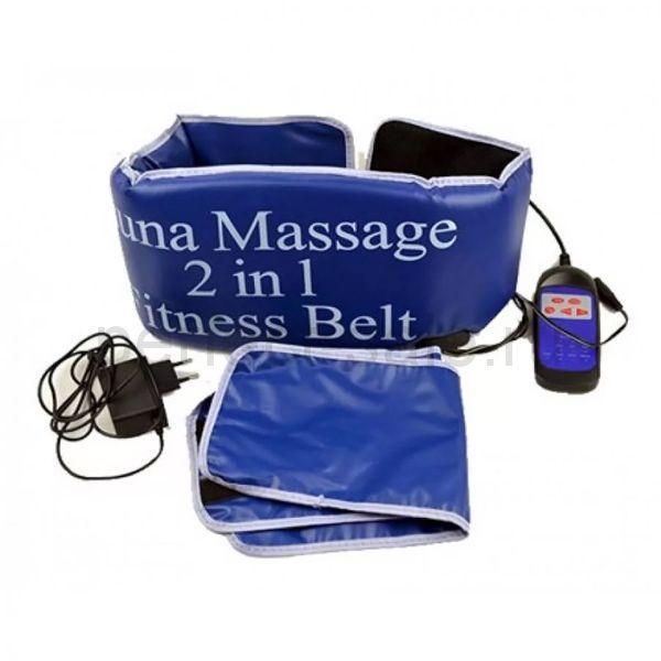 Пояс Сауна Масажер Sauna Massage 2 in 1 Fitness Belt
