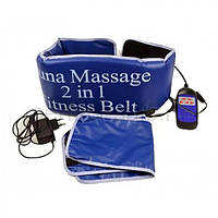 Пояс Сауна Массажер Sauna Massage 2 in 1 Fitness Belt, фото 1