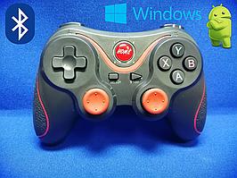 Беспроводной геймпад X3 (PC/Android/IOS/Mac) + Крепления для телефона в подарок!