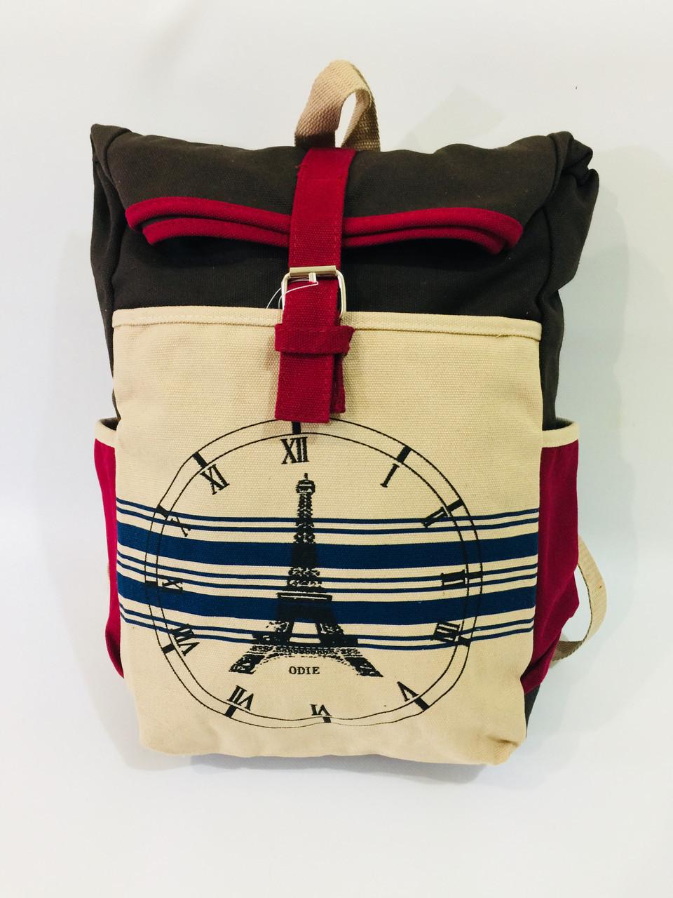 Городской рюкзак Париж 0026, коричневый