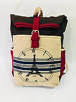 Городской рюкзак Париж 0026, коричневый, фото 1