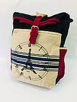 Городской рюкзак Париж 0026, черный, фото 1