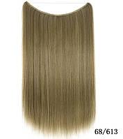 Накладные волосы на леске,трессы мелирование  (цвета в ассортименте), фото 1