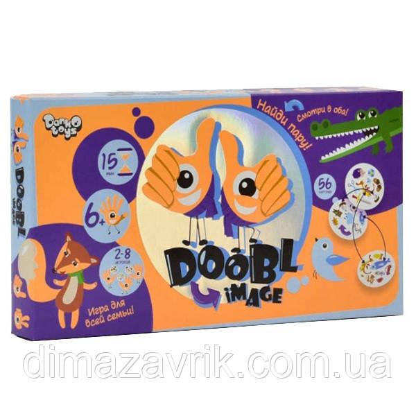 """Настольная игра """"Doobl Image"""" Дубль Danko Toys"""