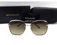 Женские солнцезащитные очки Bvlgari (0212) brown, фото 1