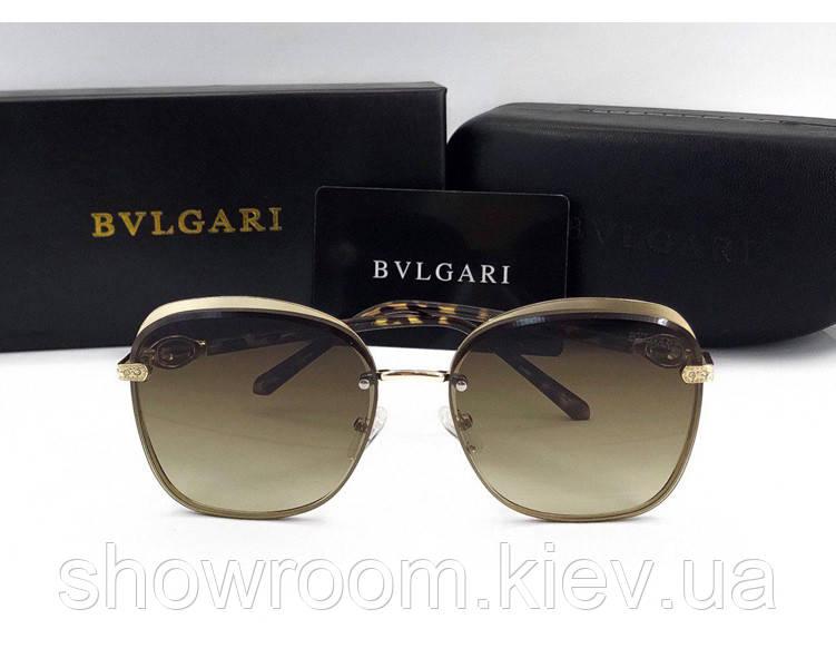 Женские солнцезащитные очки Bvlgari (0212) brown