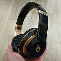 Накладные беспроводные Bluetooth наушники Beats Studio 3 by Dr. Dre Wireless черные