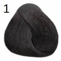 1 черный, крем-краска для волос Lovin Color