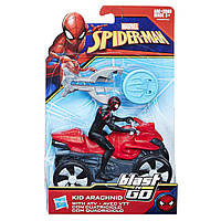 Фигурка Hasbro Marvel человека-паука Arachnid на транспортном средстве со стартером 15 см (B9705_B9995)