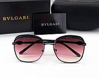 Женские солнцезащитные очки Bvlgari (0212) black, фото 1