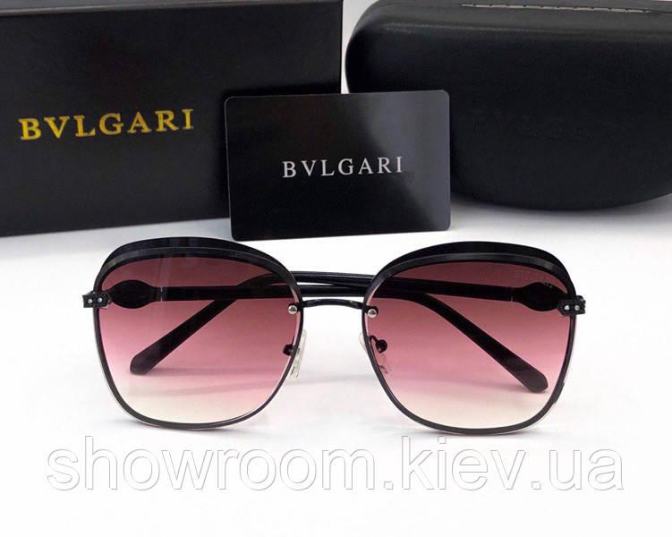 Женские солнцезащитные очки Bvlgari (0212) black