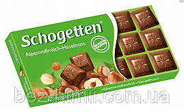 "Молочний шоколад Schogetten ""Альпійське молоко і Фундук"""