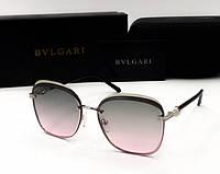 Женские солнцезащитные очки Bvlgari (0212) rose, фото 1