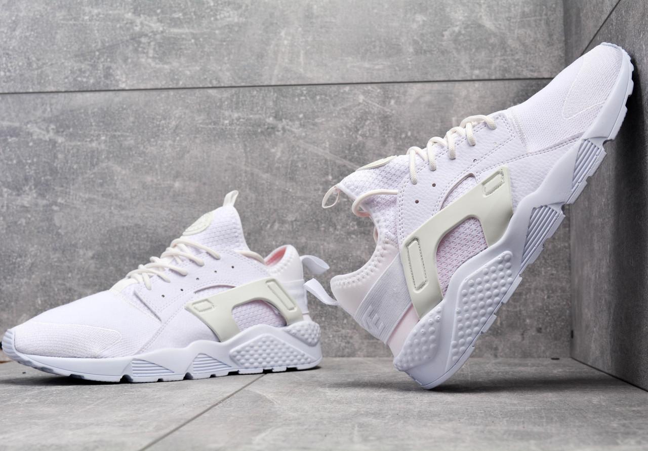 1bad9c08 Кроссовки белые Nike Air Huarache Ultra White Найк Аир Хуарачи Ультра