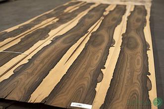 Шпон Зірікоте (натуральний) Logs - 0,55 мм 2,10-2,55 м/10 см+