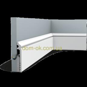 Плинтус из дюрополимера  Orac Decor SX186, высота
