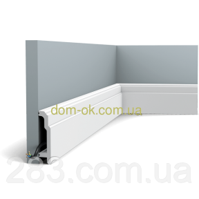 Плинтус Орак Декор /дюрополимер  SX155