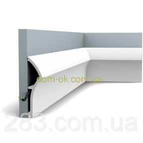 Плинтус Орак Декор /дюрополимер  SX167