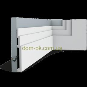 Плинтус напольный  Орак Декор /дюрополимер  SX181
