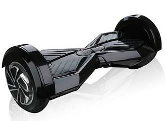 """Гироскутер гироборд Smart Balance Wheel Transformers с пультом Bluetooth 8"""" Black + чехол черный"""