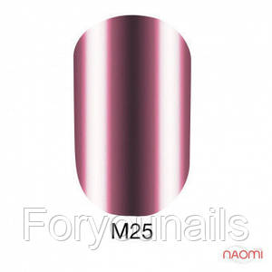 Гель-лак Naomi Metallic Collection M25, 6 мл