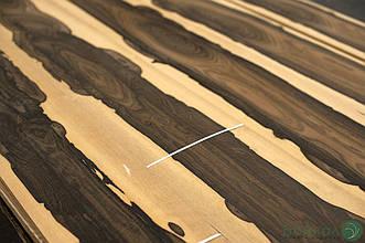 Шпон Зірікоте (натуральний) Logs - 0,55 мм 2,60 м +/10 см+