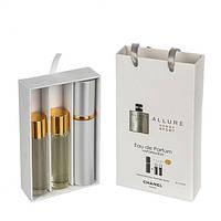 Подарочный набор парфюмерии Chanel Allure Homme Sport с феромонами