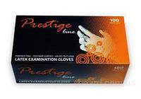 Перчатки латексные Prestige Line 100шт/уп
