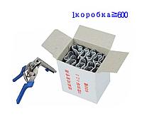 Клещи обжимные для сетки со скобами 600 шт., фото 1