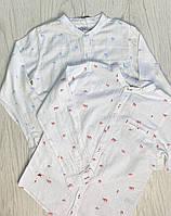 Рубашка с длинным рукавом для мальчика 140-176см
