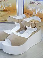 Босоножки женские на танкетке RS 2013/8