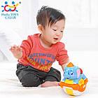 Детская игрушка качающаяся Huile Toys Музыкальный слоник (3105ABC-C), фото 2