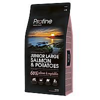 Profine Junior Large Breed Salmon & Potatoes 15 кг - для щенков крупных пород с лососем
