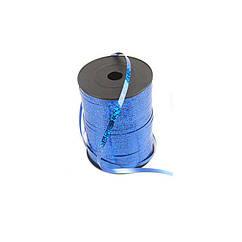 Лента полипропиленовая синяя голограммная