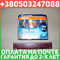 ⭐⭐⭐⭐⭐ Лампа фарная H4 12V 60/55W P43t Cool Blue Intense Hard DuoPET (2 шт) (пр-во OSRAM)