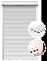 Защитные оконные/дверные роллеты, ламель 45мм, ручное управление