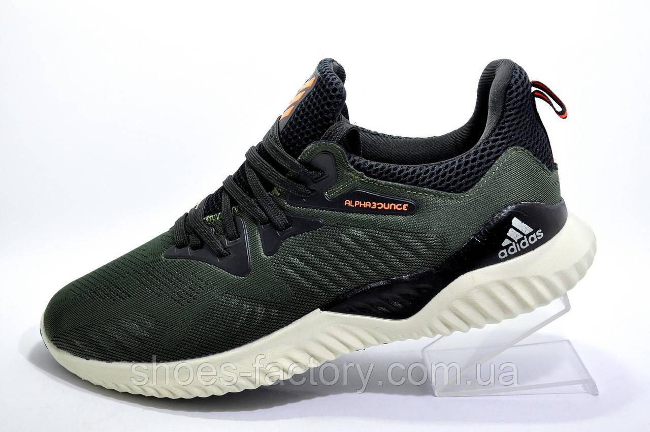 Мужские кроссовки в стиле Adidas Alphabounce Beyond, Green\Khaki
