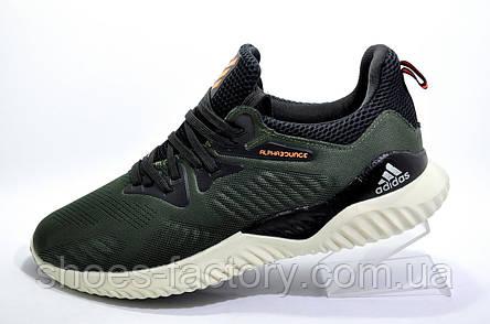 Мужские кроссовки в стиле Adidas Alphabounce Beyond, Green\Khaki, фото 2
