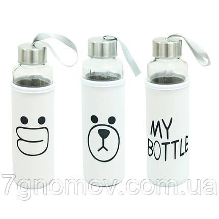 Бутылка для воды и напитков пластиковая Милота 400 мл , фото 2