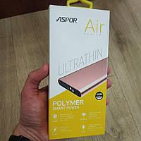 Powerbank Aspor 10000 mAh Energy A383 (Polymer, 100% емкость) повер банк внешний аккумулятор, фото 1