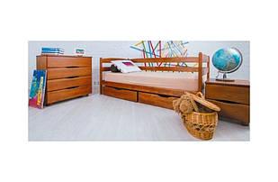 Кровать Ева светлый орех (900мм.)