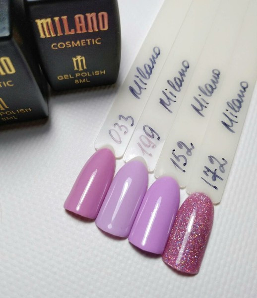 Гель-лак Milano 8ml