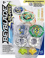 Игровой набор Hasbro Bey Blade Kerbeus K2 Керберус К2 и Yegdrion Y2 Йегдрион 2 Волчка (B9491_C0597)