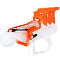 Снежкобластер метатель снежков на 3 снежки KS Magic Shooting Snowball White - 145945