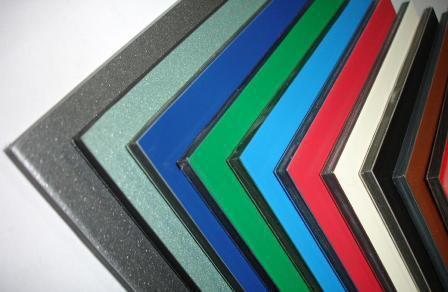 Алюмінієва композитна панель SKYBOND лазурний (RAL 5015), 3 мм (0,21/0,21), лист 1250х5800 мм