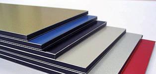 Алюминиевая композитная панель SKYBOND желто-зеленый (RAL 6018), 3 мм (0,21 / 0,21), лист 1250х5800 мм