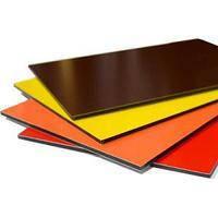 Алюминиевая композитная панель SKYBOND коричневый (RAL 8017), 3 мм (0,21 / 0,21), лист 1250х5800 мм