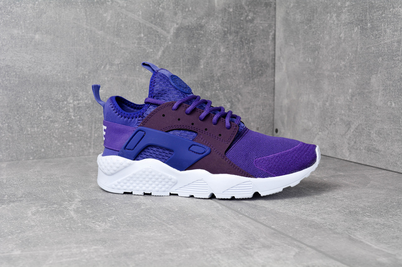006f5fcc Кроссовки фиолетовые Nike Air Huarache Ultra Violet Найк Аир Хуарачи Ультра