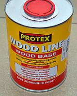Пропитка грунтовочная для защиты древесины Wood Line Wood Base 0,85 л.